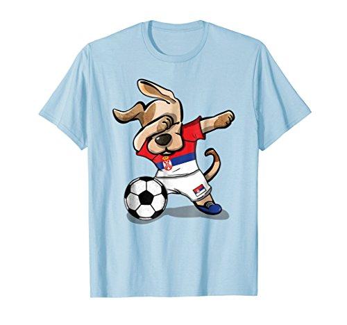 meet ca6d6 f4a72 Buy Gtee National Team Flag Dabbing Soccer Dogs Shirts ...