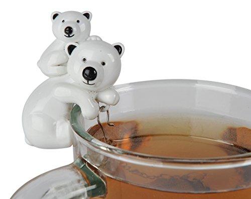 Sevy Polar Bear & Cub Tea Infuser - Polar Bear Cubs Shopping Results