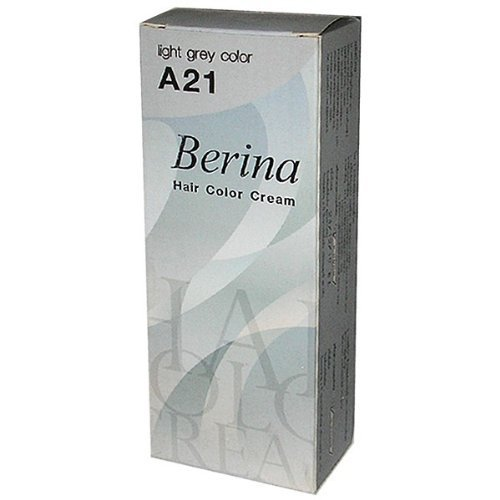 Silver Ash Grey Permanent Hair Dye Cream Lolane Goth by Berina