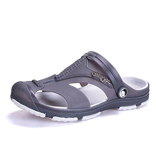 online store 316fd 67f7f Calzado Lin Juventud Sandalias Hombres Plástico De Zapatos Shoes Jardín Los  Suaves Baotou Black Zapatillas Primavera ...