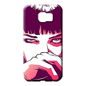 samsung galaxy s6 edge Ultra Eco-friendly Packaging New Arrival mobile phone covers pulp fiction mia