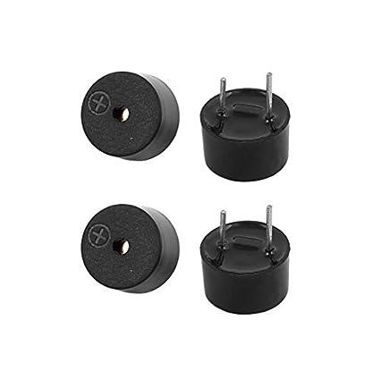Amazon.com: eDealMax 4 piezas en miniatura 3V Timbre Activo ...