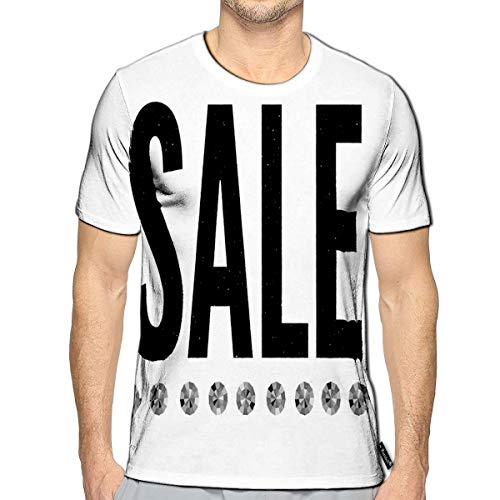 Randell 3D Printed T Shirts Slogan Sale Fashion Casual Mens Hipster Top Tees (Top 100 Slogans On Environment For All Occasions)