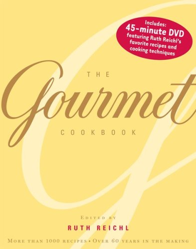 Read Online The Gourmet Cookbook: More than 1000 recipes pdf