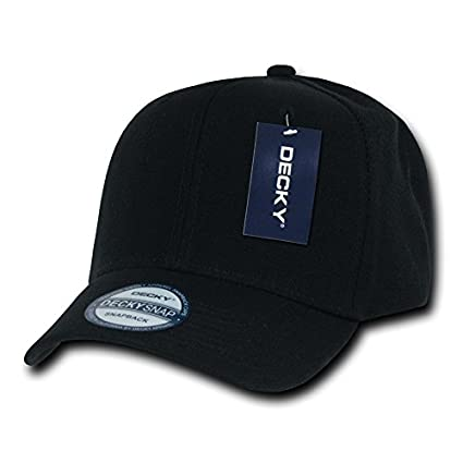 Amazon.com  DECKY Acrylic Curved Bill Snapbacks eaabea981492