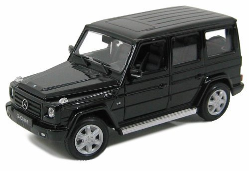 Welly Mercedes G Class G55 AMG 1/24 Scale Pre-Built Diecast Model Car - Model Pre Built