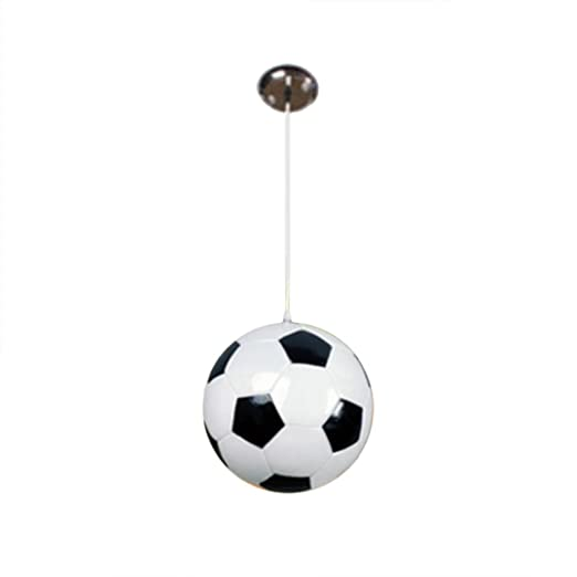 Creative Spherical Glass Droplight Motent Modern Soccer Mounted