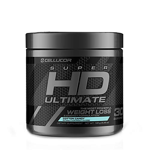 Cellucor SuperHD Thermogenic Fat Burners for Men & Women, Weight Loss Fat Burner Supplement with Nootropic Focus + Energy, G3, Capsules
