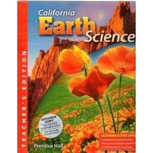 Focus on Earth Science - California, Teacher's Edition