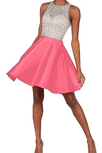 Rosa Mini Damen Marie Cocktailkleider Abendkleider Kurzes Promkleider La Braut Hell Abiballkleider Blau xgpwCgq1