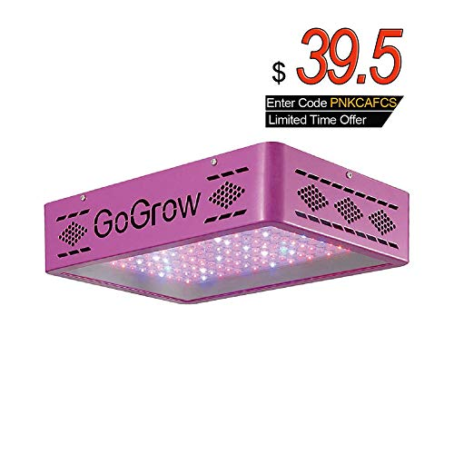 GoGrow Pink Flood LED Grow Lights, Hps 400W Or 4 Feet 8x54W