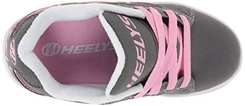 Heelys Propel 2.0 Skate-Schuh (kleines Kind / großes Kind) Grau / Pink
