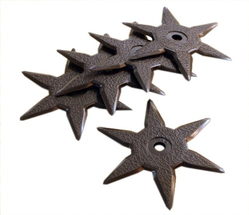 er Ninja Toy - Roppo - 5pc Set (Martial Arts Throwing Stars)