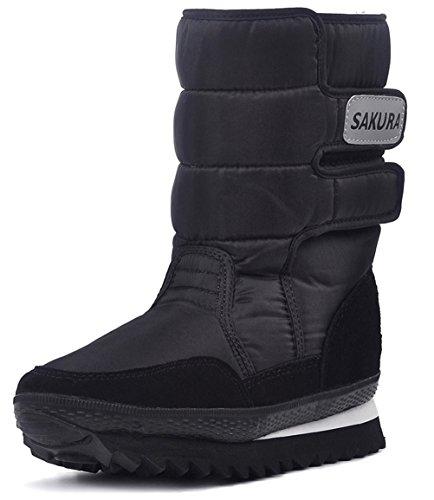 Dadawen Womens Vanntett Kald Snø Boot Sort