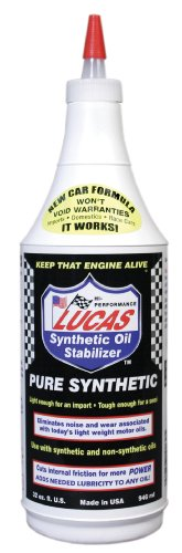 - Lucas LUC10130 Synthetic Oil Stabilizer. Quart