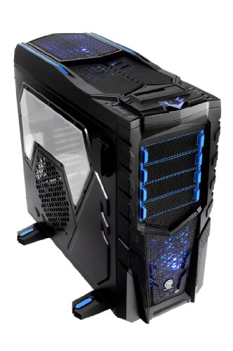 Thermaltake Chaser MK-1 Build-In HDD/SSD Hot Swap Color Shift LED Fan ATX Full Tower Gaming Computer Chasis VN300M1W2N by Thermaltake