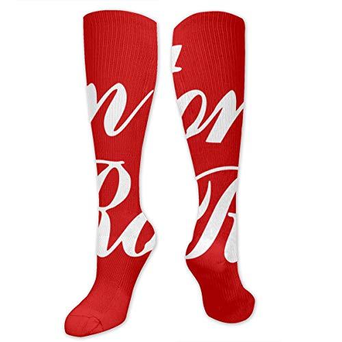 COKKI Flag Of Baton Rouge Unisex Classics Knee High Socks Sport Long Socks Athletic Crew -