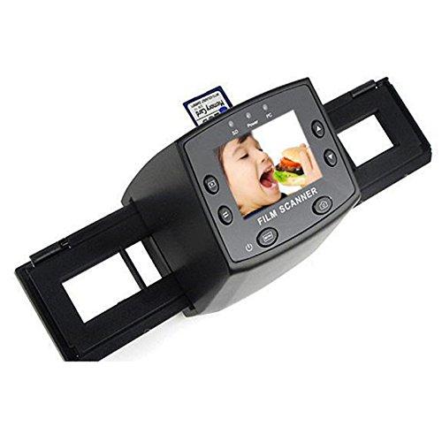 A27 TOP! Film Foto Dias Scanner Filmscanner mit 2.4' LCD 5 Megapixel mit SD-Slot, unterstü tzte Speicherkarten: SD, xD, MS, MS-Pro Aukson V4