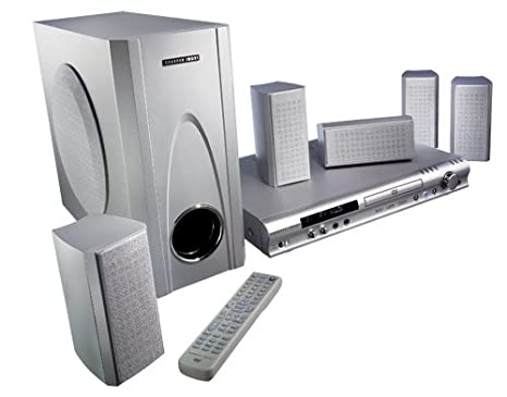Amazoncom Sharper Image Surround Sound Dvdcd Home Theater System