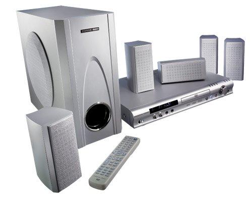 Amazon Com Sharper Image Surround Sound Dvd Cd Home Theater System