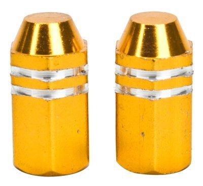 TRICK TOPS Eyeball Valve Caps Gold [並行輸入品]