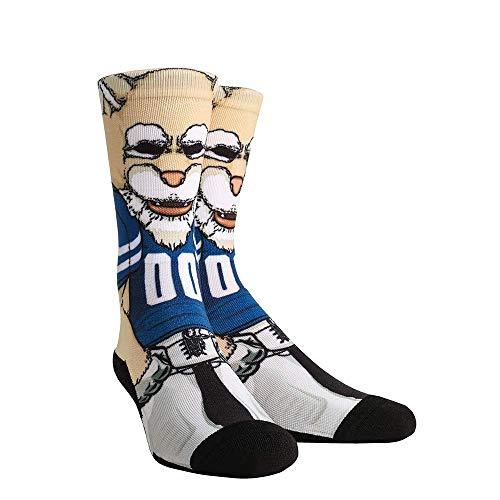 NCAA Super Premium College Fan Socks (L/XL, BYU Cougars - Mascot Cosmo)