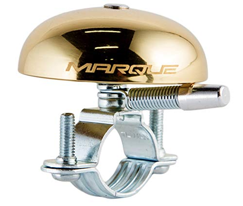 MARQUE Ringer Brass Bike Bell - Retro Bicycle Bell for Urban Beach Cruiser