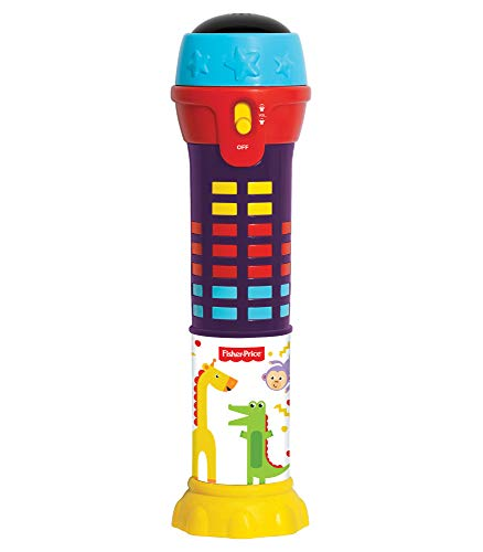 Fisher-Price - Dancing Lights Microphone, Light Up Mic, Kids, Toddler, Ages 2+