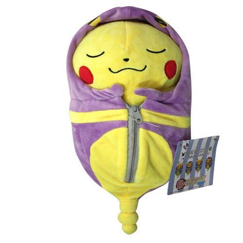 WEKIPP Ohmetoy Toy Raichu Cosplay Charizard Dedenne Plush Doll Sleeping Bag Ekans Animal Teddy Anime Brinquedos Kids Gift -Multicolor Complete Series Merchandise