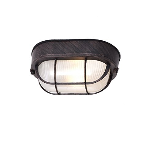 Oval Outdoor Wall Light