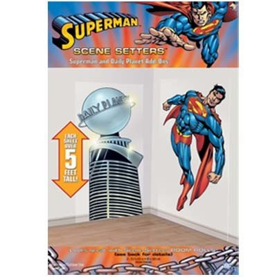 Superman and Daily Planet Scene Setter Add Ons