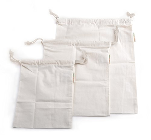 PreserveNext Reusable Organic Produce / Multi-purpose Cotton
