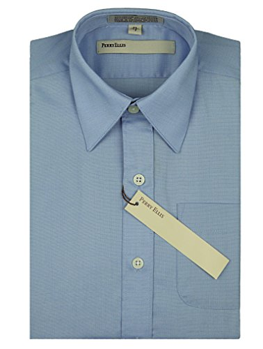 Perry Ellis Sleeve Textured Cotton