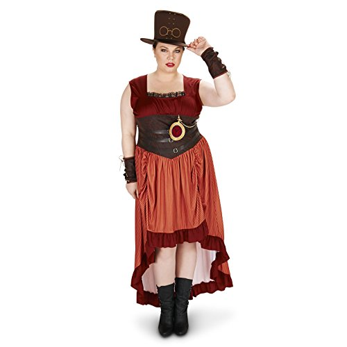 Steampunk Woman Adult Plus Costume product image