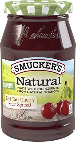(Smucker's Natural Red Tart Cherry Fruit Spread, 17.25 oz)