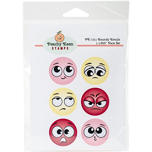 peachy-keen-stamps-clear-face-set-6-pkg-roundy-emojis