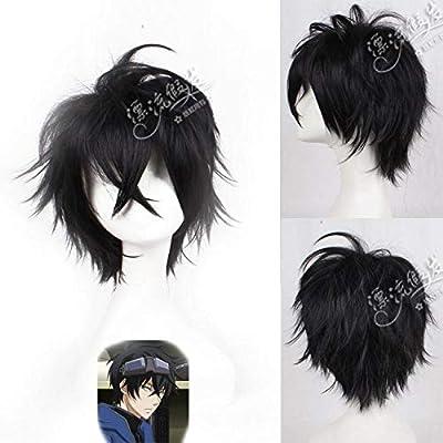 Anime peluca bandera madera kakashi peluca anime plata gris peluca ...