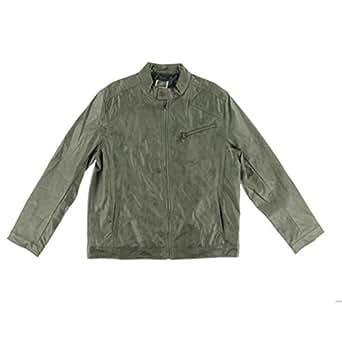Inc International Concepts Chen Bomber Men's Jacket Light Green Large