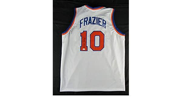 reputable site 835b3 cf849 Walt Clyde Frazier Signed Auto Autograph Replica Knicks ...