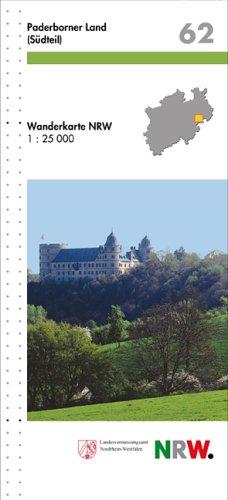 Wanderkarten Nordrhein-Westfalen, Bl. 62 : Paderborner Land (Südteil)