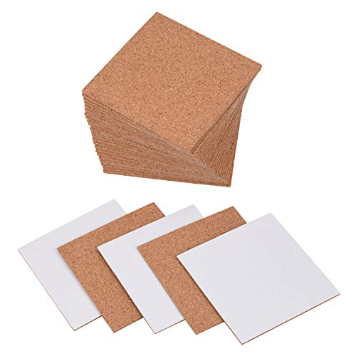 Self-Adhesive Cork Squares - 30 Packs, Sharkim 4