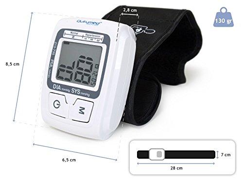 Quirumed 735 - Tensiómetro digital de muñeca: Amazon.es: Salud y cuidado personal