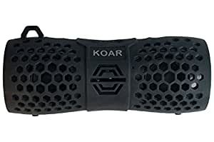 KOAR Bebox All Weather Portable Precision Audio Speaker, Black