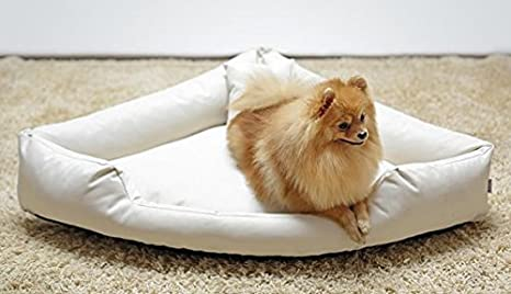 TR4-05-Juego de cama para perro Cama de esquina esquina cama para perro Sofá de Perro Cama para perro Talla L 100cm color crema: Amazon.es: Productos para ...