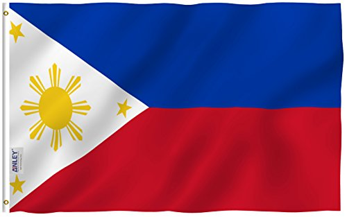 Anley Fly Breeze 3x5 Foot Philippines Flag - Vivid Color and