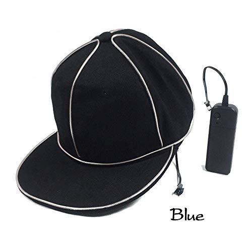 Vivicute LED Baseball Cap Light Up Hat Flash Luminous Cap with LED Light for Sports Travel Party Club Activities