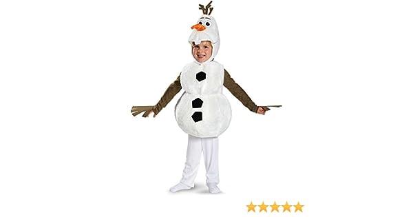 Frozen: OLAF muñeco de nieve infantil – Disfraz Calzoncillos by ...