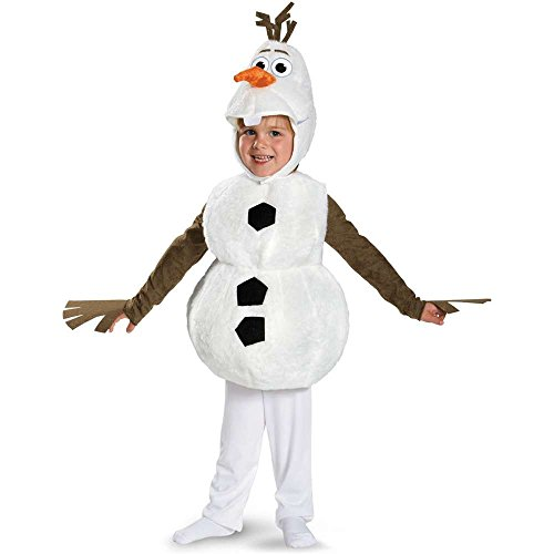 Olaf Child Costumes (Frozen: Olaf Snowman Kids Costume - 4-6)