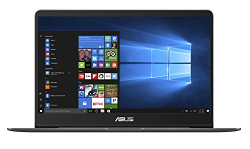 Asus Zenbook UX3430UQ-GV010T 35,5 cm (14 Zoll mattes FHD) Notebook (Intel Core i7-7500U, 16GB RAM, 256GB SSD, Nvidia GeForce 940MX, Win 10) grau