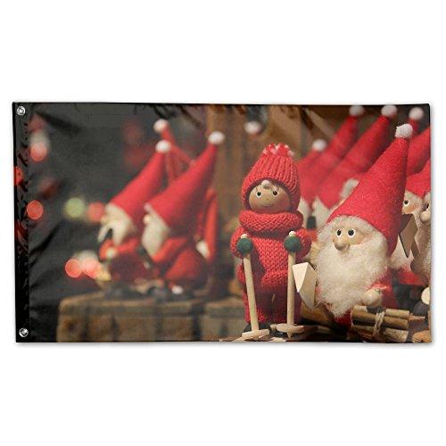 Bdna Christmas Cartoon Garden Flag 59 X 35 Inches Yard Flags